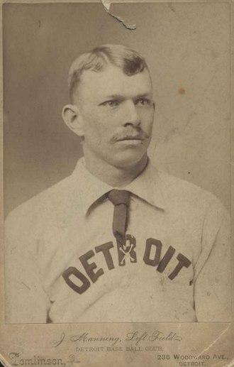 Jim Manning (baseball) - Image: Jim Manning Detroit