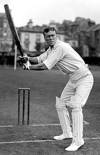 Jimmy Sinclair, who holds the record for the highest strike rate in the history of Test cricket Jimmy Sinclair c1905.jpg