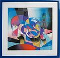 Jiri Meitner-Zatisi me zeny, pastel, 30x29, 2009.jpg