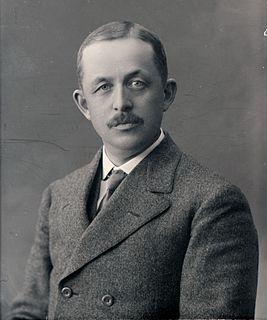 Johan Throne Holst Norwegian business leader
