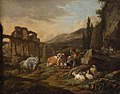 Johann Heinrich Roos - Landschaft mit Tieren - GG 636 - Kunsthistorisches Museum.jpg