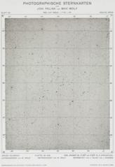 Photographische Sternenkarte