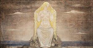 Freyja - Freja by John Bauer (1882–1918)