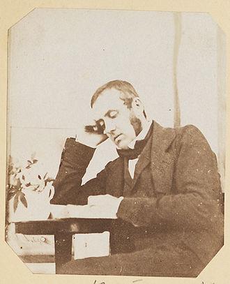 John Dillwyn Llewelyn - John Dillwyn Llewelyn, by Mary Dillwyn 1853