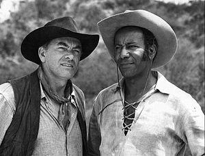 Raymond St. Jacques - St. Jacques (right) as Simon Blake with John Ireland, 1965