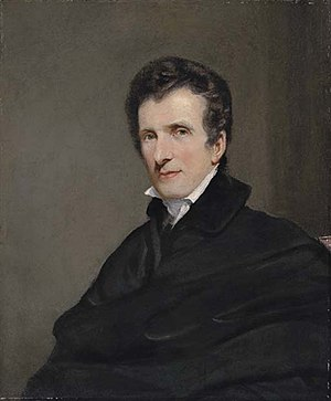 John Jackson (painter) - Jackson's 1819 portrait of Antonio Canova
