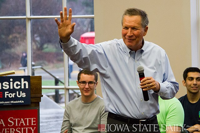 From commons.wikimedia.org: John Kasich {MID-255695}