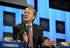 John T. Chambers - World Economic Forum Annual Meeting Davos 2010.jpg