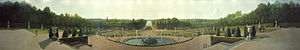 The Rotunda (New York City) - Panoramic View of the Palace and Gardens of Versailles (1818-19), Metropolitan Museum of Art, New York City.