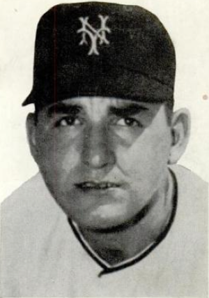 Johnny Antonelli - Antonelli in 1954.