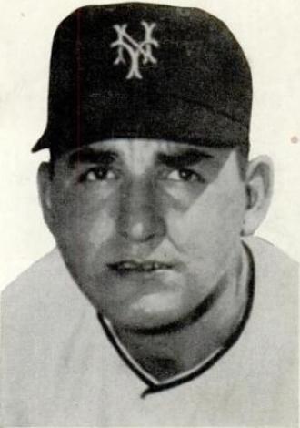 Johnny Antonelli - Antonelli in 1954.