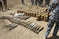 Joint U.S. Army, Iraqi national police forces unearth weapons cache in Abu Thayla DVIDS86966.jpg