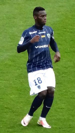 Jonathan Bamba - Bamba whilst at Paris FC