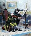 José Malhoa - Um compasso difícil (Lição de violino).jpg