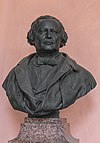 Josef von Skoda (1805-1881), Nr. 102 bust (bronze) in the Arkadenhof of the University of Vienna--HDR.jpg