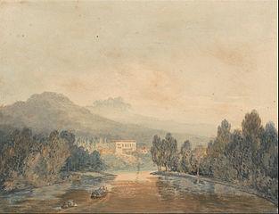 Villa Salviati on the Arno