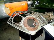 Ju88 cockpit hood