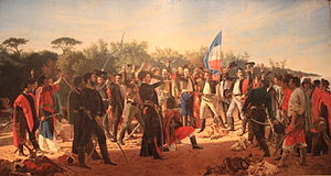 Cisplatine War - Oath of the 33 Orientales to the Uruguayan Republic.