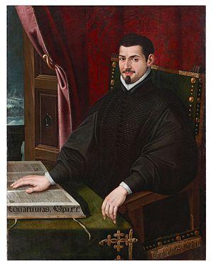 Sebastián de Covarrubias - Portrait of Sebastián de Covarrubias, by Juan Bautista de Espinosa (signed «Espinosa, f. 1616»), galería Caylus.