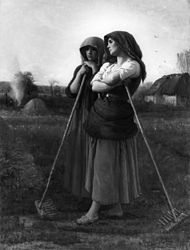 Jules Breton: The Close of Day
