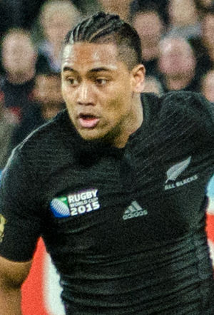 2015 Rugby World Cup Final - Julian Savea scored a joint record eight tries in New Zealand's progress to the final, including two hat-tricks
