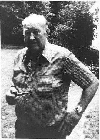 "Jack Sharkey - Juozas Žukauskas (""Jack Sharkey"") when he was 78 years old."