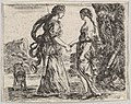 Jupiter and Calisto, from 'Game of Mythology' (Jeu de la Mythologie) MET DP831078.jpg