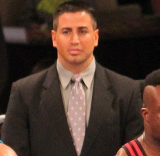 Justin Roberts Professional wrestling ring announcer