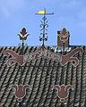 Jutphaas. Vakwerk aan of op de smederij in Nieuwegein.jpg