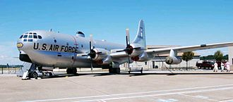 134th Air Refueling Wing - A 134th ARW KC-97L preserved at the Air Mobility Command Museum.
