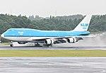 KLM Boeing 747-400 PH-BFP at Narita airport 2014.jpg
