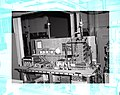 KLYSTRON CALORIM E ANAL ASSEMBLY IN HUGHES CHAMBER AND THE UNITED STATES AIR FORCE USAF TEST BENCH - NARA - 17424155.jpg