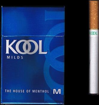Kool (cigarette) - An old pack of Kool cigarettes