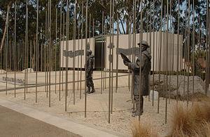 Korean War Memorial, Canberra - Sculpture