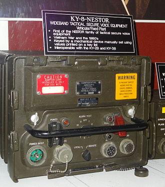 NESTOR (encryption) - KY-8, vehicular or fixed