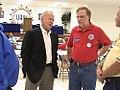 KY- Bruce Lunsford and Bill Londrigan KY AFL-CIO at September 4th walk (2830942324).jpg
