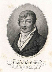 Karl Friedrich Krüger, 1809 (Quelle: Wikimedia)