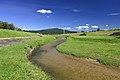 Kago-gawa River and Mount Sanage, Kamekubi-cho Toyota 2019.jpg
