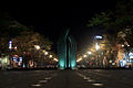 Kagoshima Minato Street Park at night.jpg