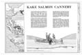 Kake Salmon Cannery, Title Page - Kake Salmon Cannery, 540 Keku Road, Kake, Wrangell-Petersburg Census Area, AK HAER AK,22-KAKE,2- (sheet 1 of 9).png
