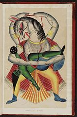 Kalighat pictures Indian gods f.21.jpg