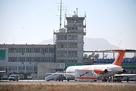 Kam Air at Kabul Airport in 2010.jpg