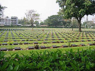 Kanchanaburi Province - A World War II cemetery in Kanchanaburi