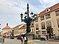 Kandelábr, Loretánská, Hradčany, Praha, Hlavní Město Praha, Česká Republika (48790525893).jpg