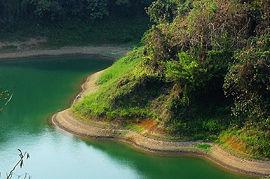 Kaptai Lake at Rangamati.