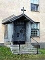 Karihaara Parish Hall Door 20111008.JPG