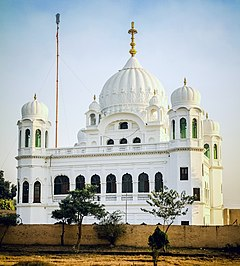 The Gurdwara Darbar Sahib Kartar Pur was built to commemorate the spot where Guru Nanak is said to have died.