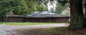 Kashia Band of Pomo Indians of the Stewarts Point Rancheria - Image: Kashia Pomo Old Roundhouse (March 2012)