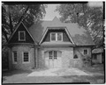 Keasbey and Mattison Company, Executive's House, Carriage House, 6 Lindenwold Avenue, Ambler, Montgomery County, PA HABS PA,46-AMB,10I-2.tif