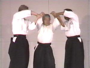 Ken and Miye Ota - Ken Ota teaching Aikido, 1988